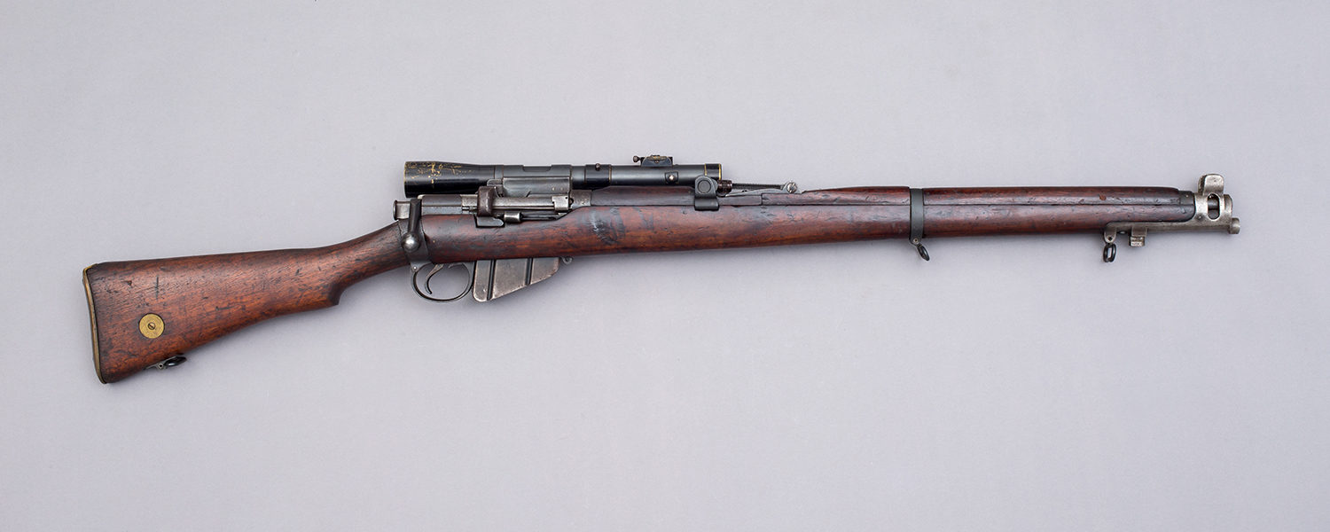 Short, Magazine Lee-Enfield with Periscopic Prism Company telescope (PPCo) sight