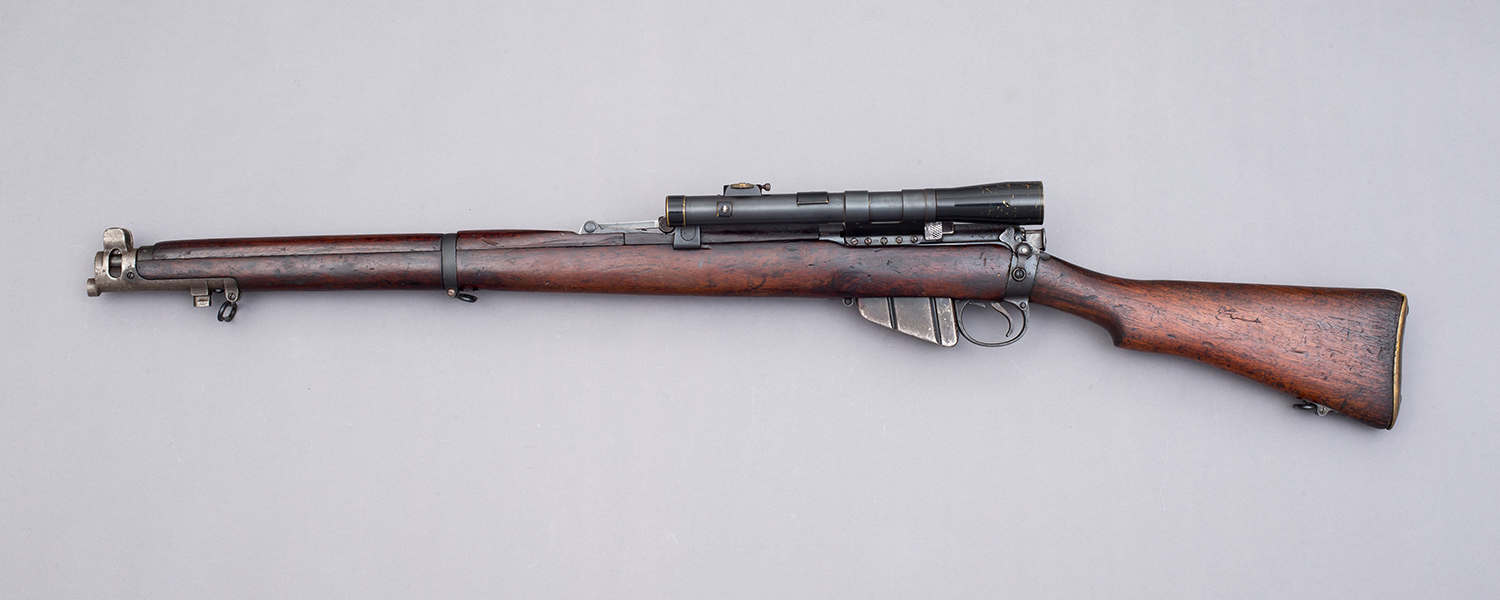 Short, Magazine Lee-Enfield with Periscopic Prism Company telescope (PPCo) sight 2