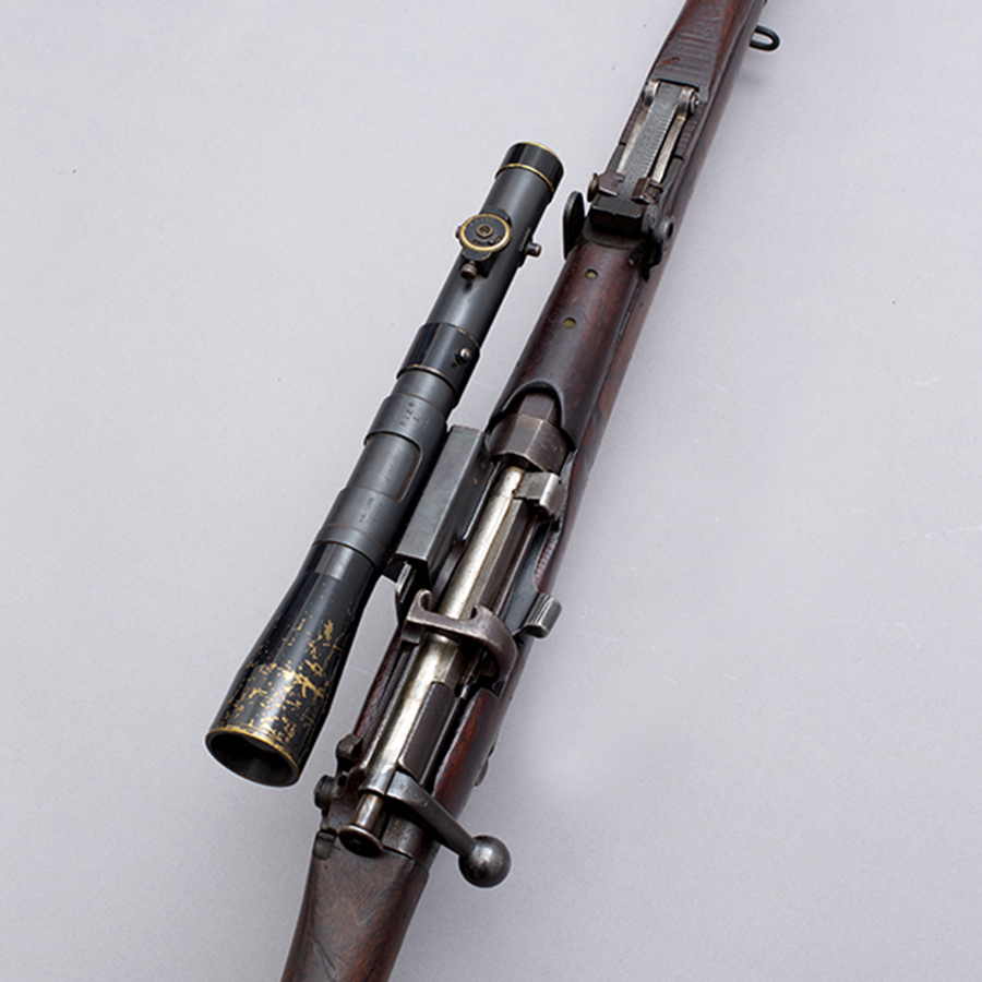 Short, Magazine Lee-Enfield with Periscopic Prism Company telescope (PPCo) sight 3