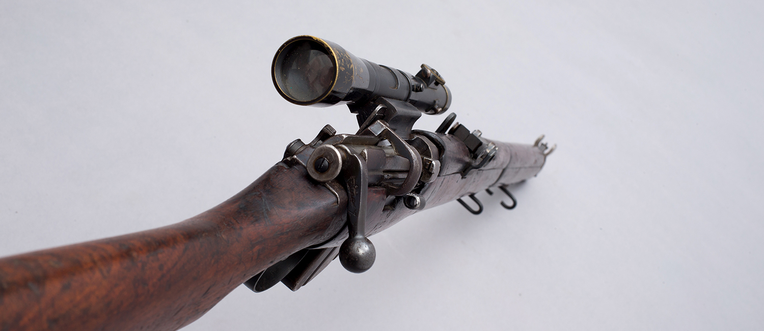 Short, Magazine Lee-Enfield with Periscopic Prism Company telescope (PPCo) sight 4