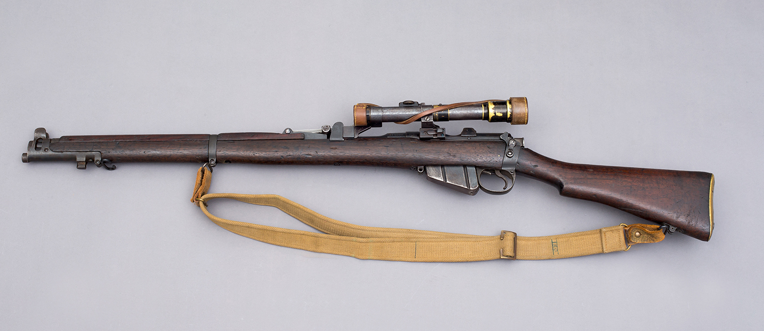 SMLE with Aldis H&H Telescopic Scope 2