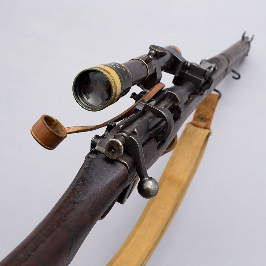 SMLE with Aldis H&H Telescopic Scope 5